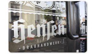 Werbetechnik Fensterfolierung Hensen Brauerei GmbH